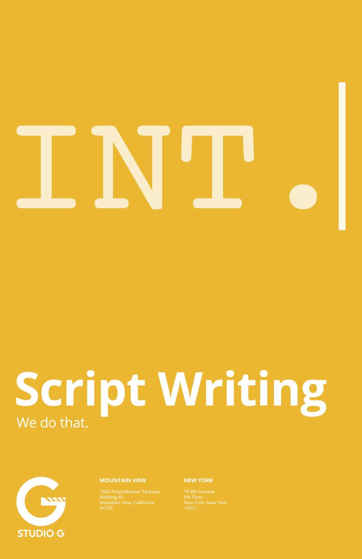 poster_scriptwriting