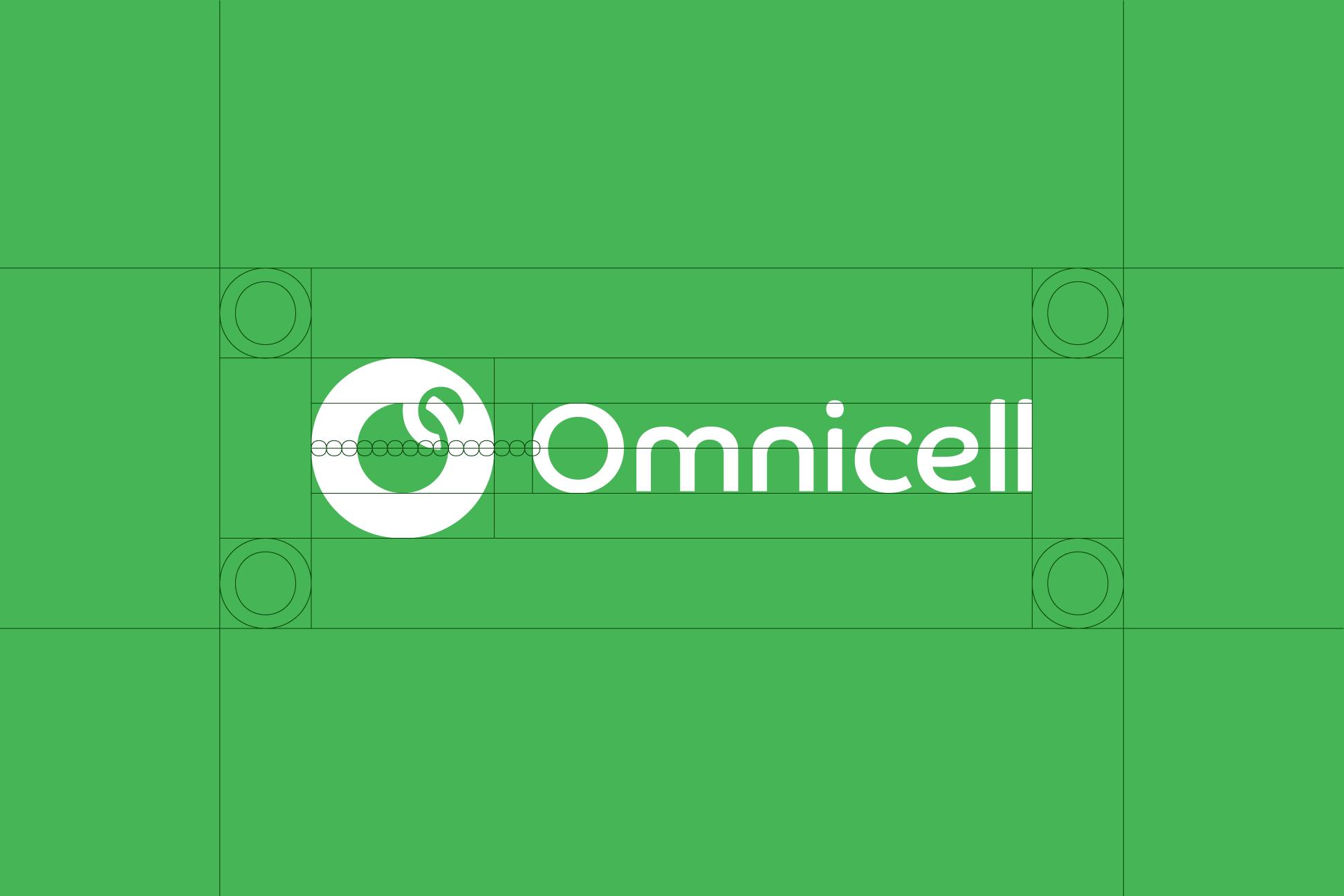 Omnicell Logo Lockup Construction
