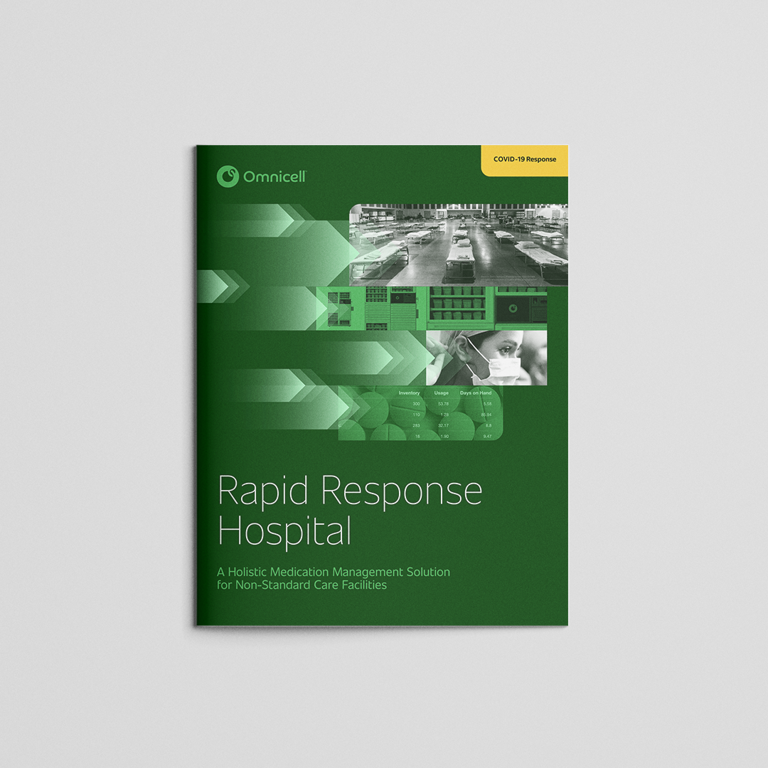 omnicell covid response brochure cover