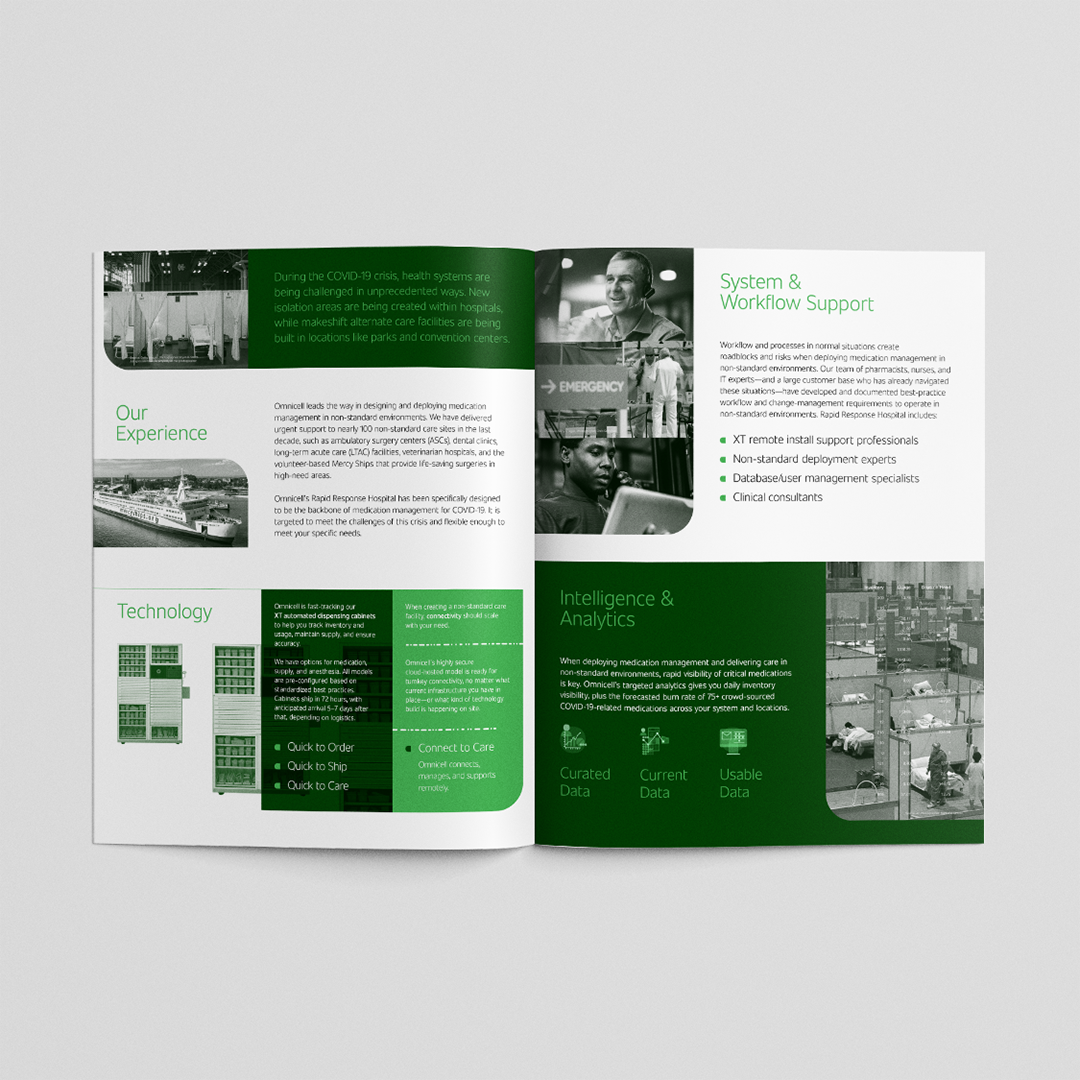 omnicell covid response brochure interiorinterior