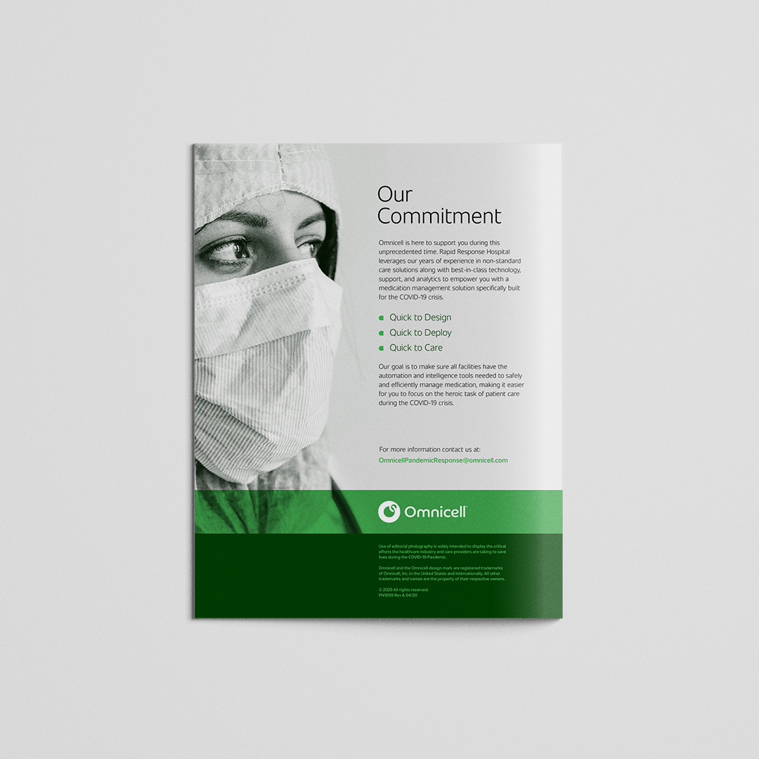 omnicell covid response brochure back