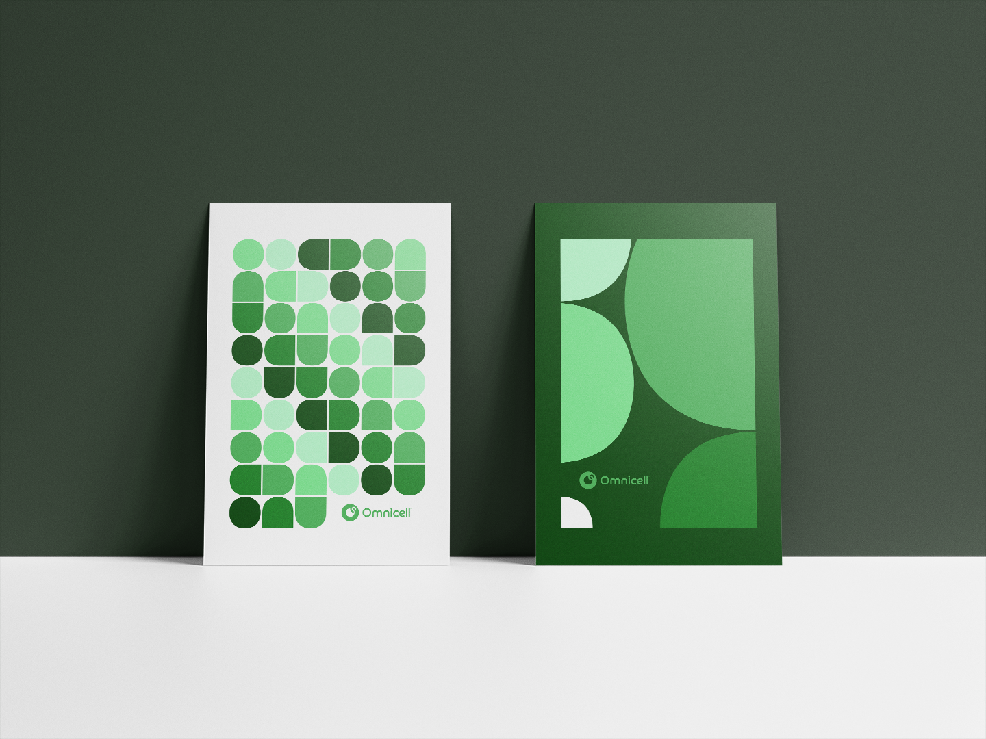 omnicell poster graphics